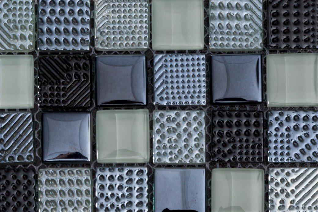 Piastrelle e rivestimenti mosaico bagno milano spazio 11 - Piastrelle finto mosaico bagno ...