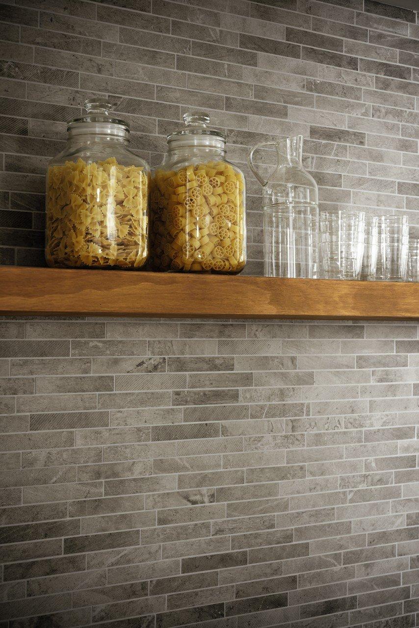 Piastrelle e rivestimenti mosaico bagno milano spazio 11 - Bagno parquet e mosaico ...