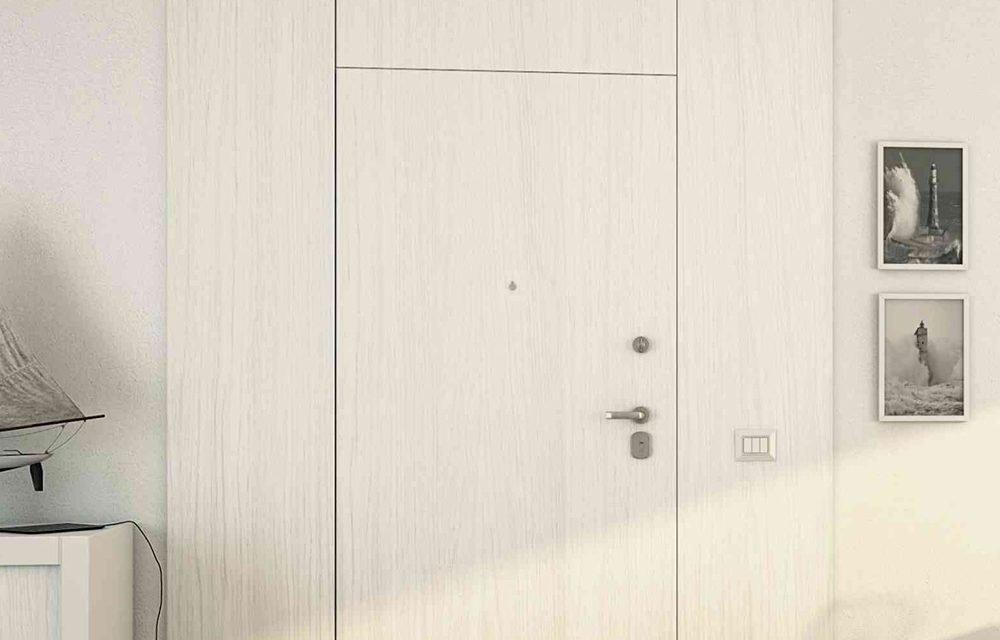 Porta Blindata cs Boiserie Milano