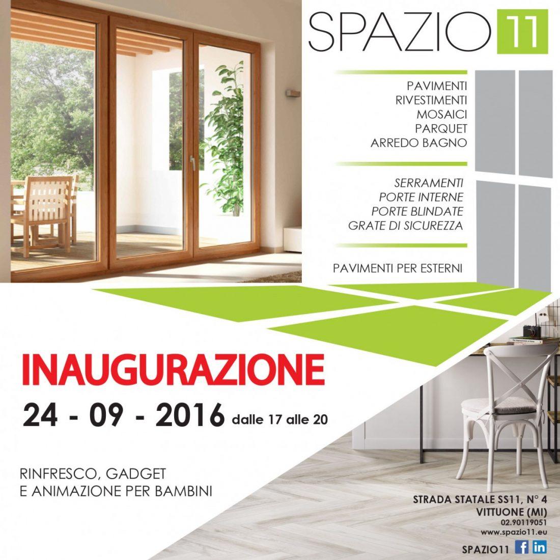 Inaugurazione Spazio 11