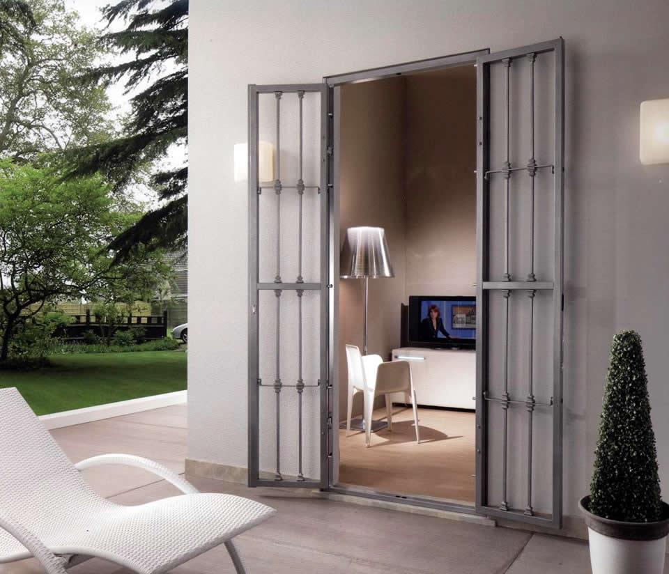 Porte blindate e grate di sicurezza milano spazio 11 - Finestre blindate ...